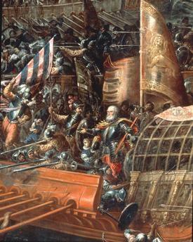 Naval battle of Lepanto