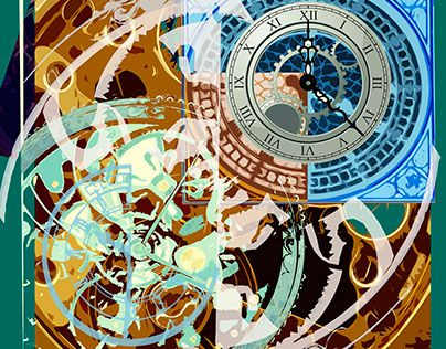 "Check out new work on my @Behance portfolio: ""Time pattern"" http://be.net/gallery/41231541/Time-pattern"