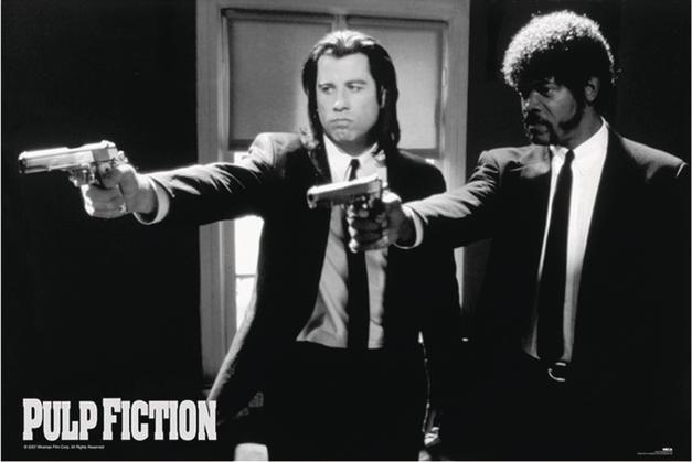Pulp Fiction Poster Poster Großformat - Close Up GmbH