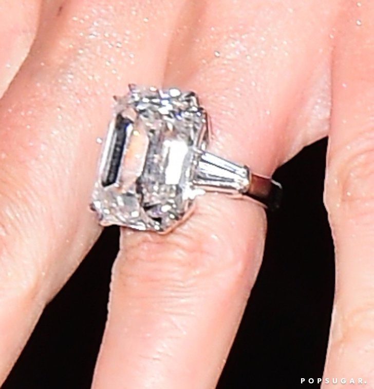 Pin for Later: See Photos of Mariah Carey's Blindingly Gorgeous 35-Carat Engagement Ring