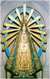 Virgen de Lujan, revestida