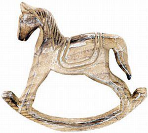 Dřevěný houpací kůň SHA627539 | Nábytek ATAN