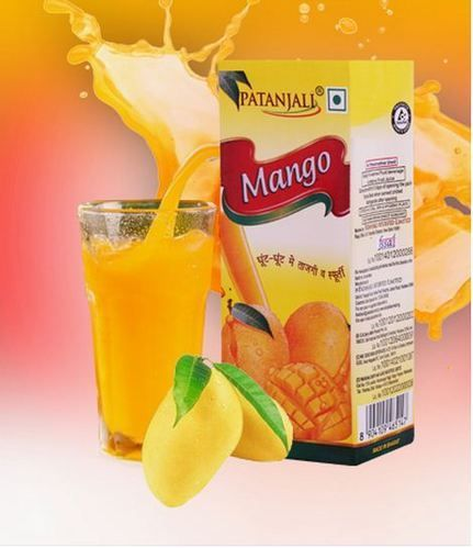 #Patanjali Mango Drink#A product of Patanjali Ayurved Limited. Ready to serve fruit drink contains fruit juice without any preservative. Taste best when served chilled.