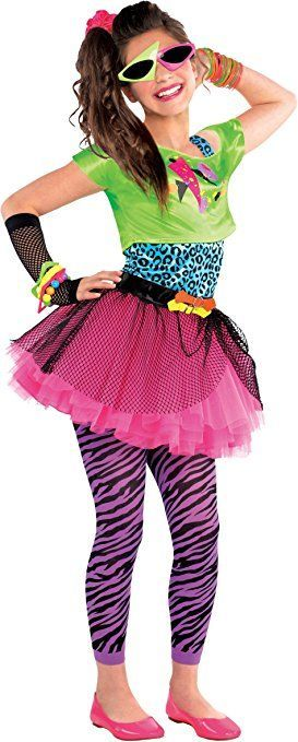Totally Awesome 80er Jahre Geniales Kostum Teenie Kinder Kostum