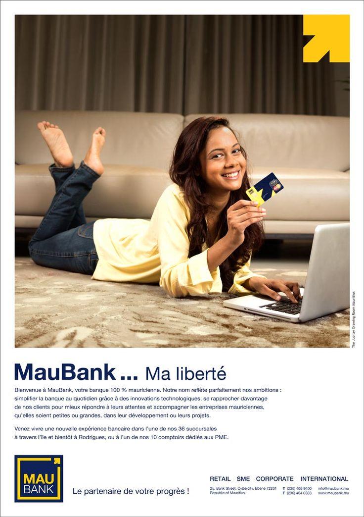 MauBank: Le partenaire de votre progrès ! Tél: 405 9400
