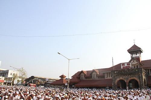 Muslim Heads And Hearts at Bakra Eid Namaz