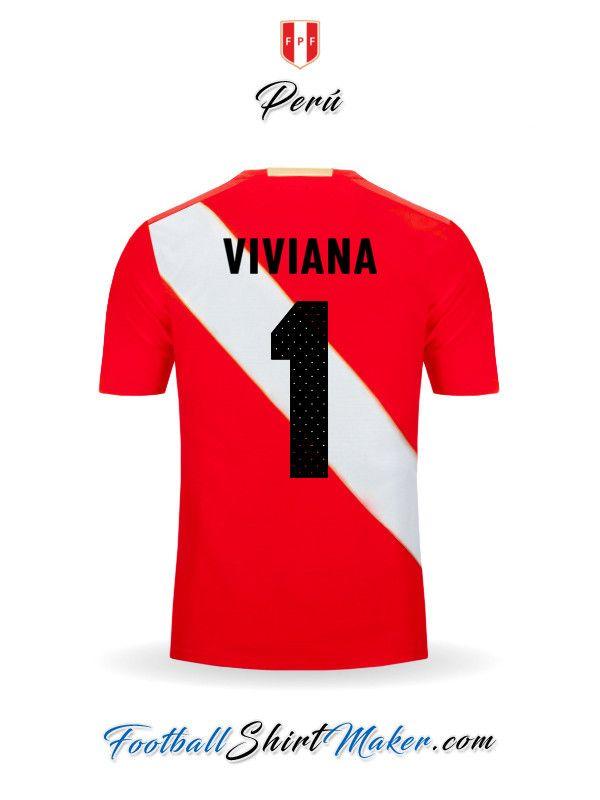 Camiseta Peru 2018 Visita Viviana 1  5c1bdca6f