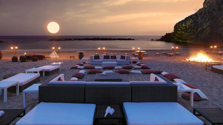 Abama Golf & Spa Resort - Enjoy a memorable event at our exclusive beach  TENERIFE SPAIN