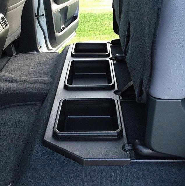 Toyota Tundra Crewmax Plastic Rear Under Seat Storage Unit