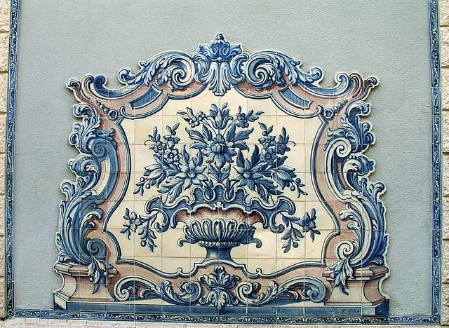 Azulejo in Lisbon, Portugal
