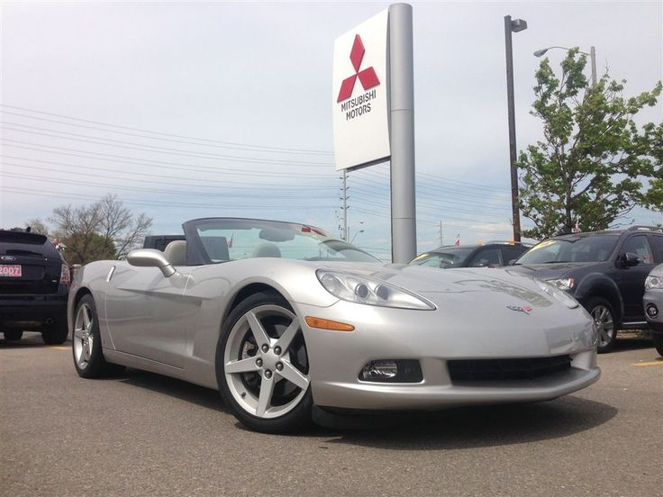 #Summer is almost over! Time is running out to pick up your 2007 #CHEVROLET #CORVETTE #LS2! Put the top down on this #convertible and feel the power of the 6.0L engine! Loaded with high #polished #alloy #wheels, power windows, power door locks, air conditioning and so much more! Come in and drive this #beauty today!