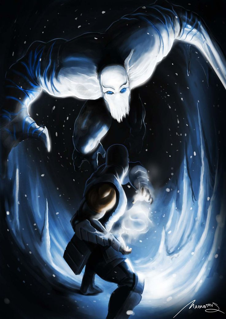 "Sub Zero (Mortal Kombat) vs. Glacius (Killer Instinct) by Magnothus. I personally like Sub Zero, as both a character and a ""powered meta human"". I've always tried to include a ""SubZero"" like character in every campaign or story, but he is so recognizable, it's hard to do that effectively."