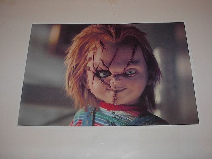 HORROR CLASSICS CHILDS PLAY CHUCKY MOVIE POSTER PIN UP