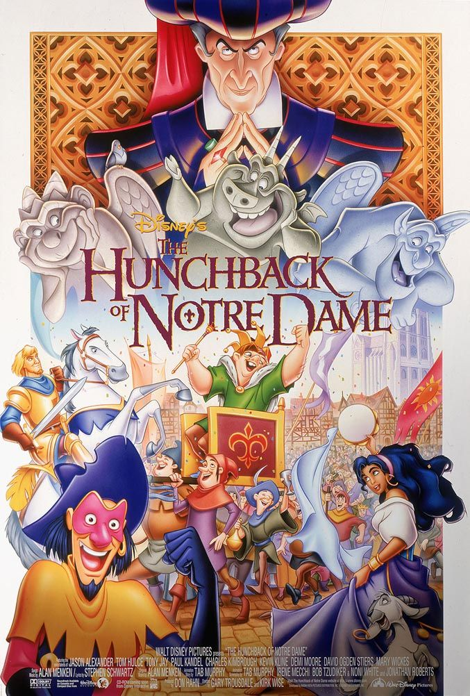 1/24/15: I just watched this for the first time, and I'm kind of happy I didn't watch it as a kid. It's scary, and Frollo is beyond creepy. There's a lot of educational value in it though!