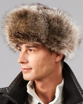 The Raccoon Fur Russian Trooper Hat