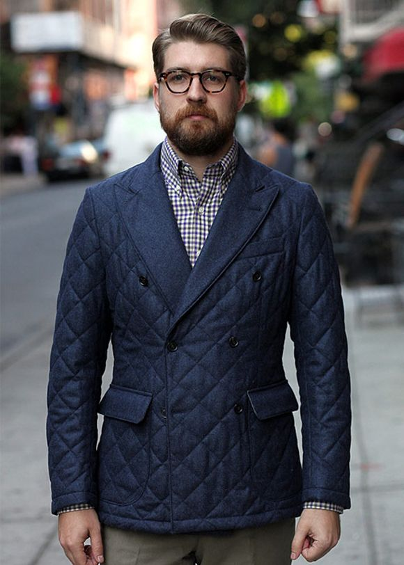 Formal essentials in quilted casual   SOLETOPIA