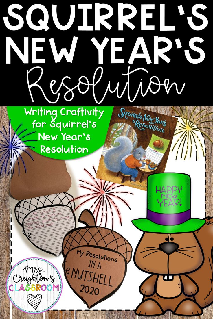 Squirrel's new year's resolution Classroom, Education