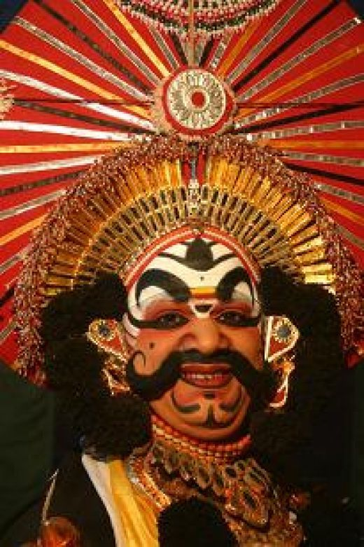 Yakshagana-The famous dance drama from the Tulunadu region