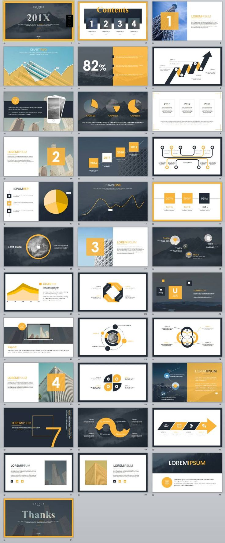 34+ Best Magazine business style PowerPoint templates