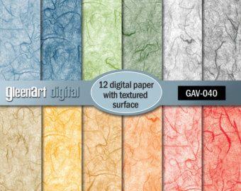 50 % Rabatt auf Sale - texturierte Scrapbooking Papier/Natur Papier/Pappe Papier/rustikal Decoupage Papier / Papier/INSTANT DOWNLOAD texturiert