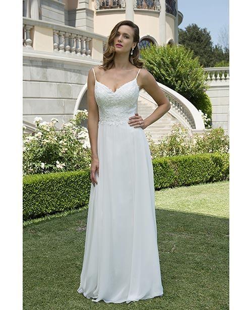 f12f055b1f Balletts Bridal - 24616 - Wedding Gown by Venus Bridals - VB WG VN6916 informal  lace