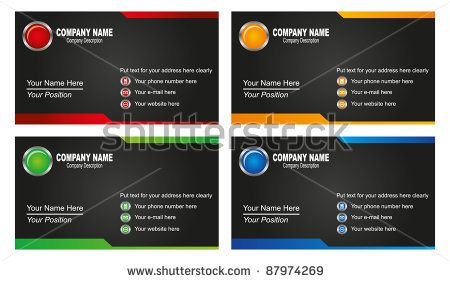 Vector stock  of business card template.  This image is a vector illustration and can be scaled to any size without loss of resolution. This image will download as a .eps file. You will need a vector editor to use this file (such as Adobe Illustrator).