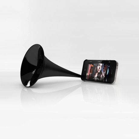 ridiculous and awesomeCoolest Iphone, Iphone Speakers, Iphone Megaphone, Public Places, Coolest Gadgets, Apples Gadgets, Music Maker, Iphone Gadgets, Iphone Accessories