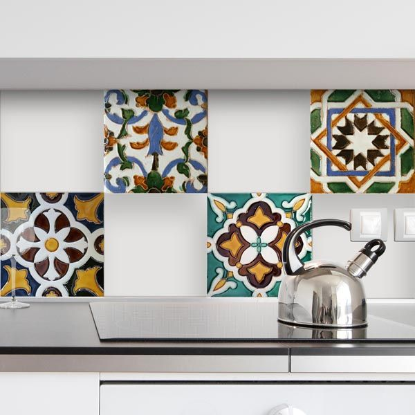 Nature Peel and Stick Tiles - Home Décor Line Wall Decals