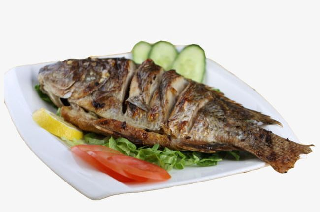 A Whole Grilled Fish Png Cucumber Fish Vector Food Grilled Vector Plate Grilled Fish Fish Recipes Food