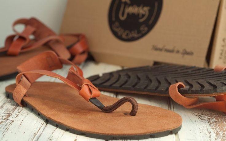 Les LightRun Sandals sont des sandales huaraches légères en cuir, soigneusement fabriquées à la main en Espagne. #5doigts #huaraches #run #city #barefoot #chaussures #minimalistes