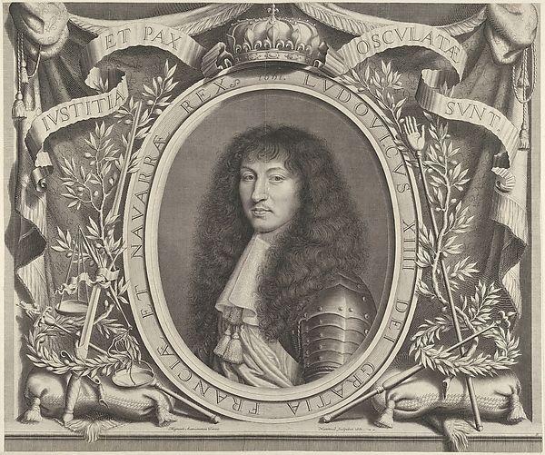 Louis XIV - Robert Nanteuil  (https://ru.wikipedia.org/wiki/%D0%9B%D1%8E%D0%B4%D0%BE%D0%B2%D0%B8%D0%BA_XIV)