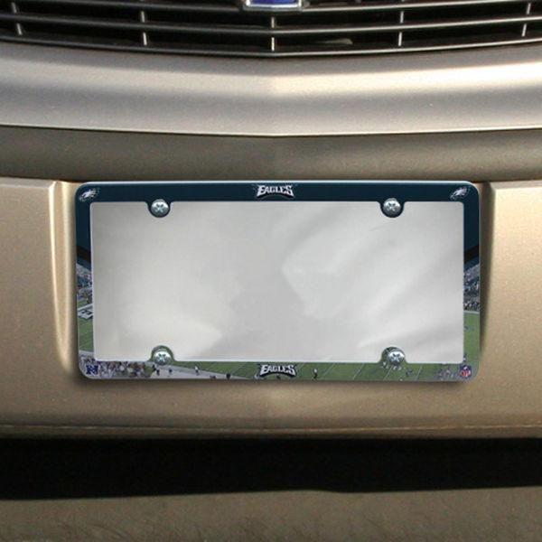 Philadelphia Eagles Stadium Plastic License Plate Frame