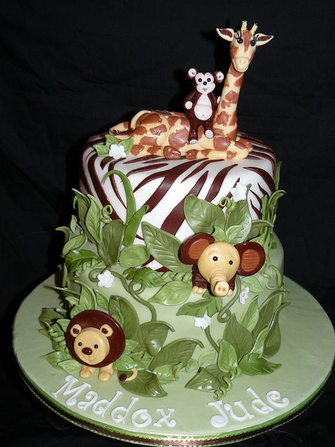 Baby Safari babyshower cake