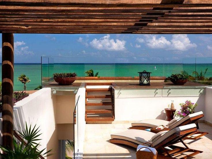 best beach hotels Rosewood Mayakoba