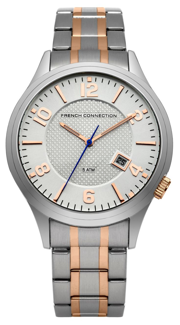 nice French Connection Gents bracelet watch, Rose Gold just added...
