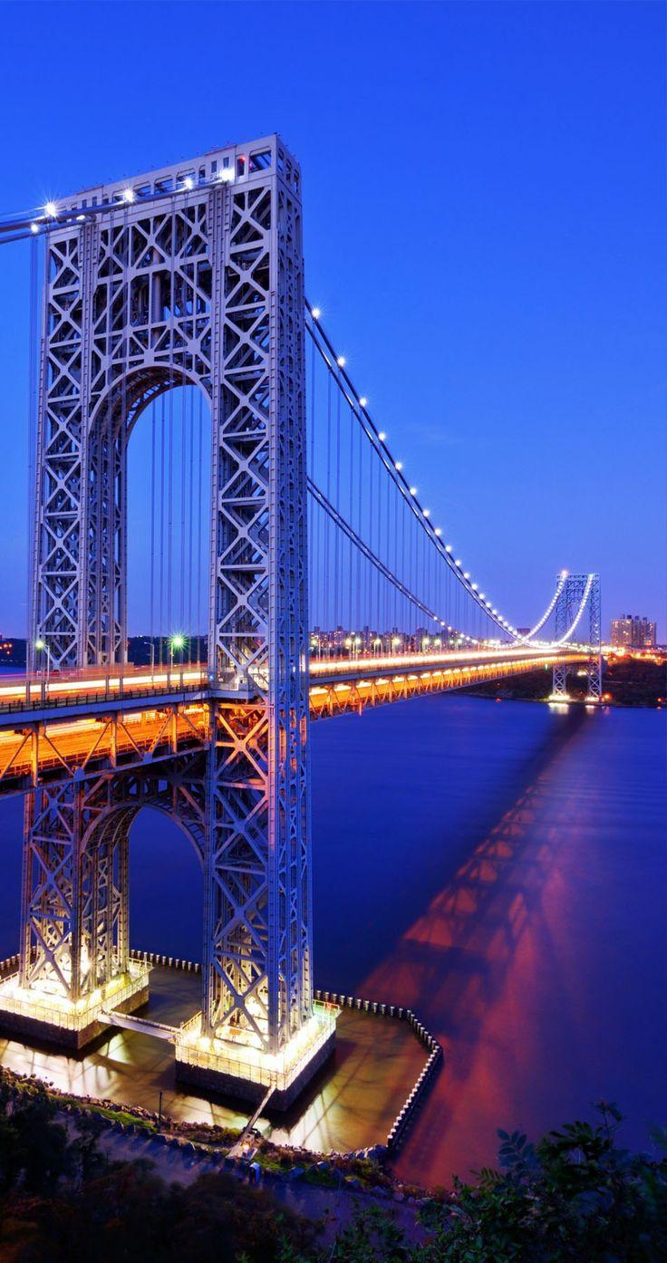 The George Washington Bridge – known informally as the GW Bridge | TOP 10 Most Amazing Bridges Around the World