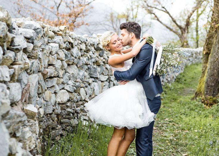 Un matrimonio geometrico in Rose Quartz e Serenity