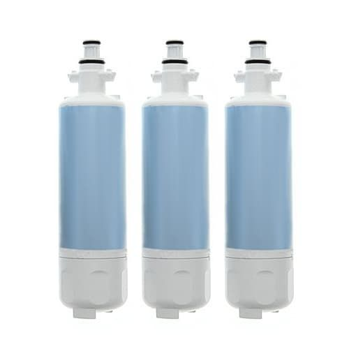 Replacement Water Filter Cartridge for LG ADQ36006101-S Filter (3-Pack)