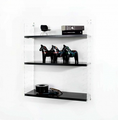 String Plex Väggavlar grund med 58x20 hyllor Hyllsystem | String | Länna Möbler | Handla online