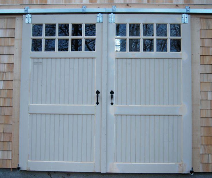 Beautifully constructed transom barn doors with Acorn Hardware .saltspraysheds.com & 7 best Salt Spray Doors and Windows images on Pinterest | Salt ...