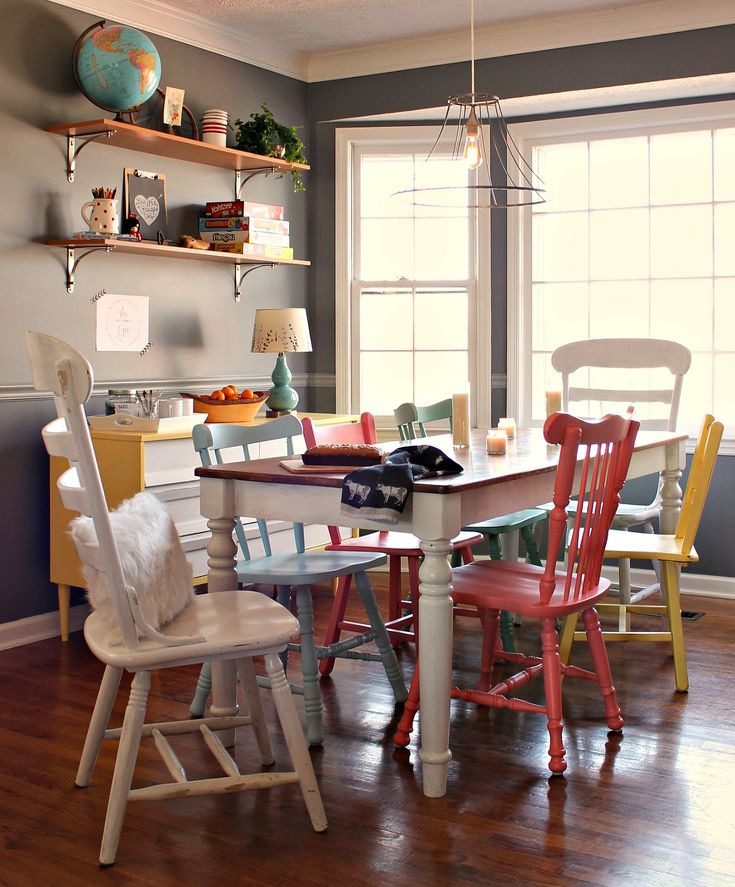 Decorating With Color {a dining room story} - the little farm diary