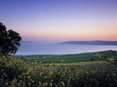 Mare di Galilea Kinneret