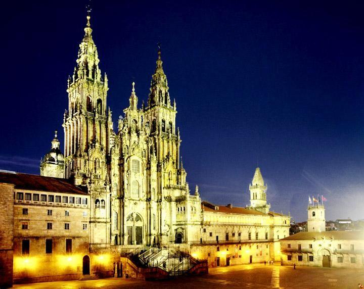 Cattedrale Santiago de Compostela - Galicia.