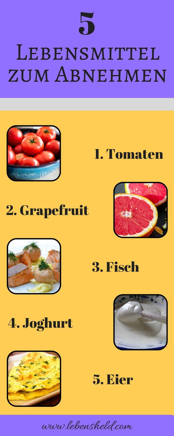 5 Lebensmittel zum Abnehmen - so nimmst du schneller ab.