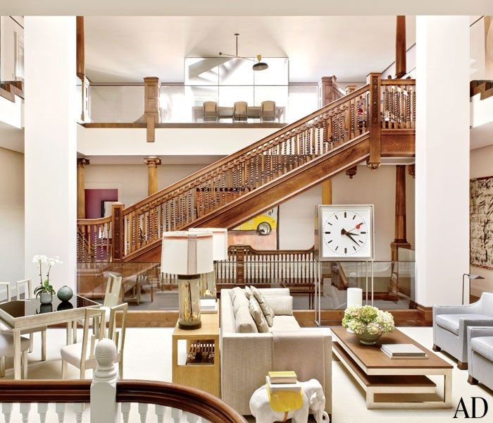 Thad Hayes Combines Two Historic Boston Houses Into One Grand Family Home Photos | Architectural Digest