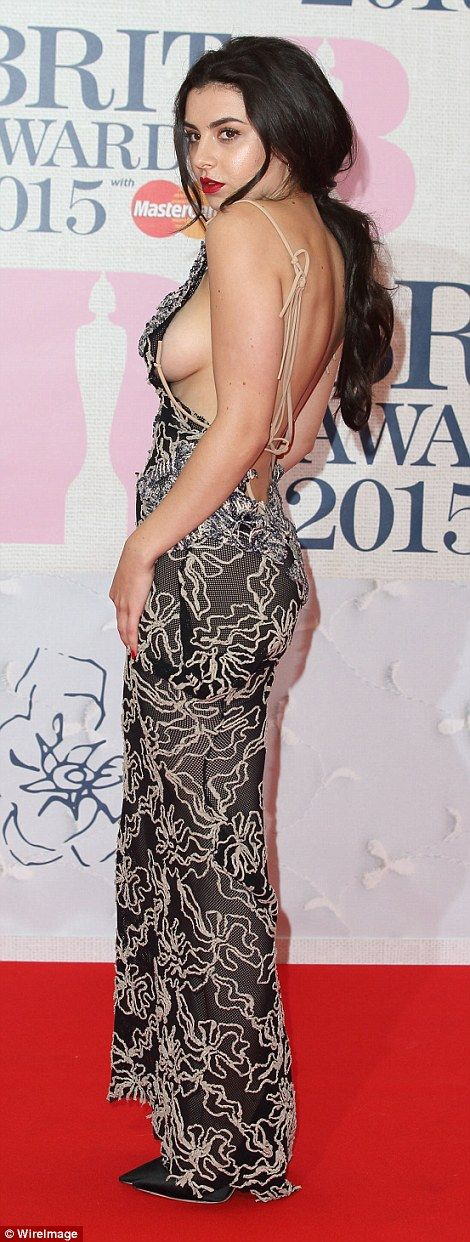 Charlie XCX is bold and beautiful at the BRITs 2015