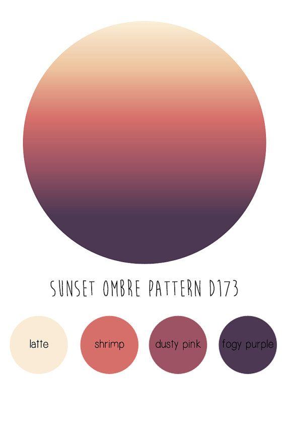 Sunset Ombre Self Adhesive Removable Wallpaper D173 by Livettes