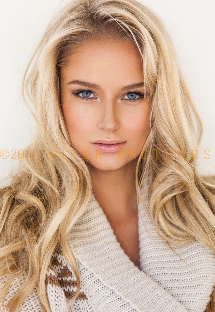Agree, very Blonde hair blue eyes