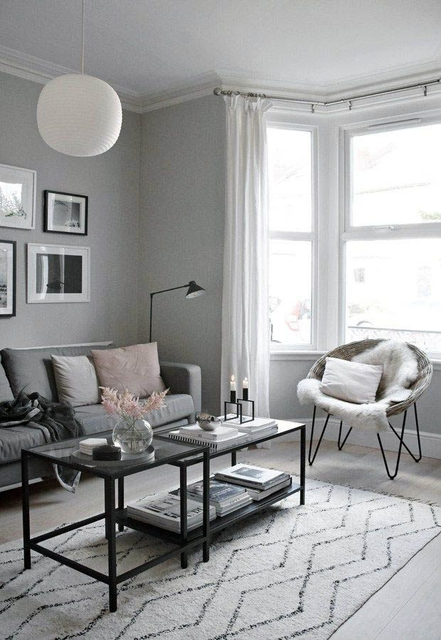 Minimalist Black And White Interior Modern White Living Room Minimalist Living Room Living Room Designs