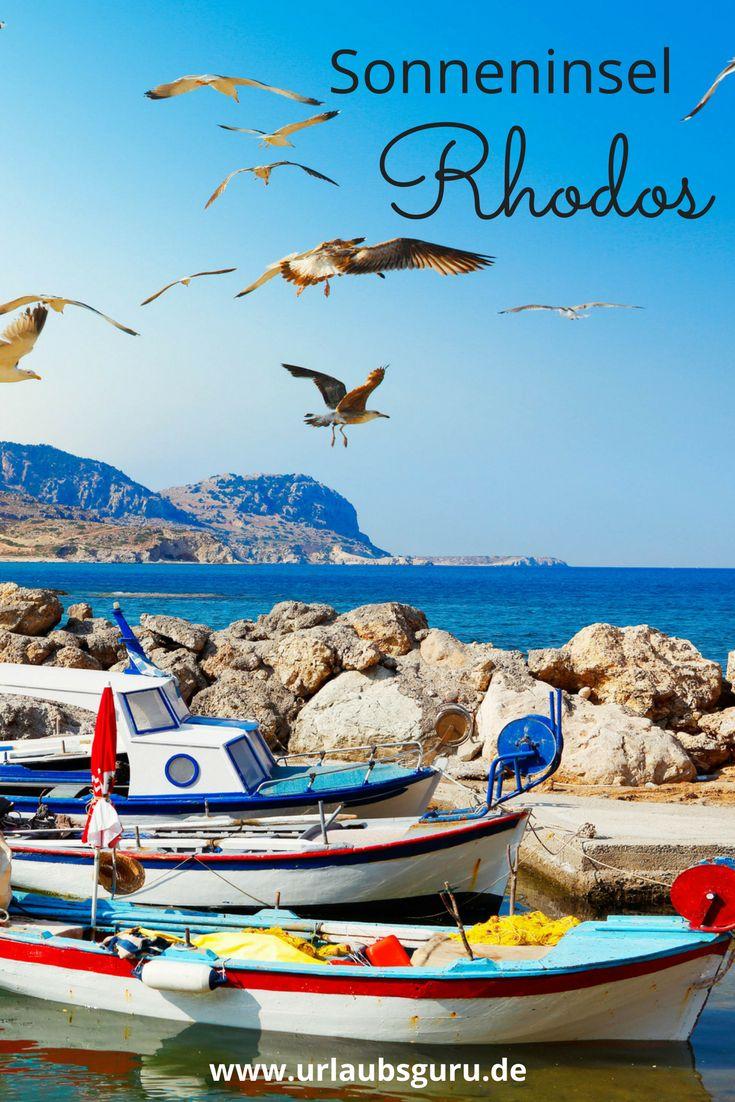 Das sind die Highlights der Sonneninsel Rhodos in Griechenland!